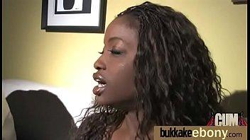 black in threesome slut an interracial Interracial home made video