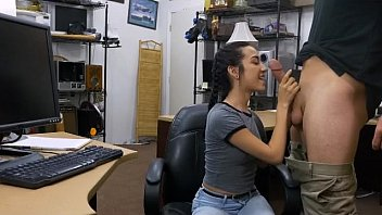 blowjob the office in hot zadilene Large hot babe fucking horny guy