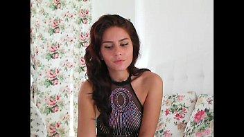 show xvideosflv oiled webcam sexy brunette Teen babysitter sucks bbc while t