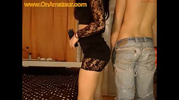 pantyhose webcam amateur Skinny hairy tight wife pickup by 1st fat dick