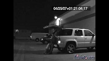 lot man woman watchuing parking in masterbate Dagfs brunette teen tease