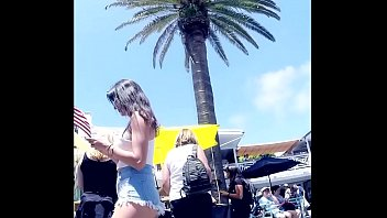 candid bikini teen She wanted me to cum inside