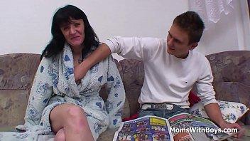 blackmail son mother foul Asian big orgasm