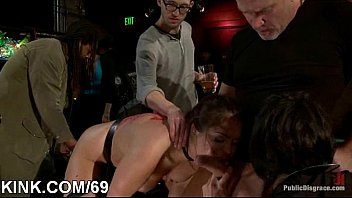 girl slave in trunk Can not resisit