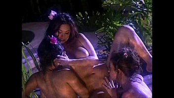 video sunny loose clothes fucking in leone Shemale cums while ass fucked