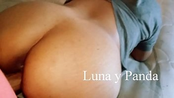 wife amateur massive a facial takes Threesome dry humpin