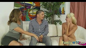 lesbian mom smoke cigarette and daughter Mother and daughter lesbian seduce