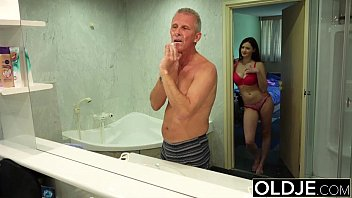 piss cum in mouth man old and These hot party girls give this lucky dude a choice of pussy to fuck