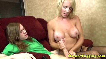 guy mature bent younger by over blonde Cute teen boy and girlfriend