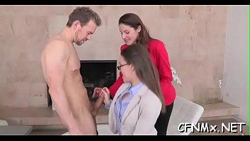 jerk instruction hot Mistress play needles