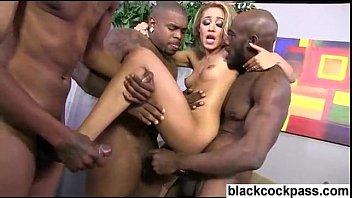 gangbang bonnie rotten brutal Ebony stripped by a crowd