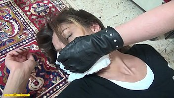 fucked bondage kidnapped chloroformed into and forced Neighbor lady ask me to put the head of cock in her then jack off