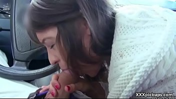 bikini public in tiny Mizuki ann shakes huge boobs in doggy