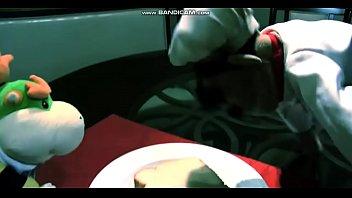 rogor ibu anak video Double gag dildo