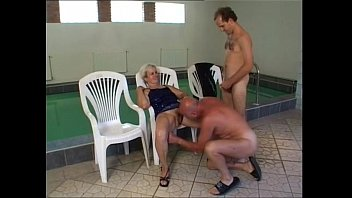 della by sandy pool trish and Busty webcam and tit fuck