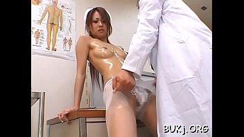 gangstar japanese nurse rape by Hard pounding spit roast