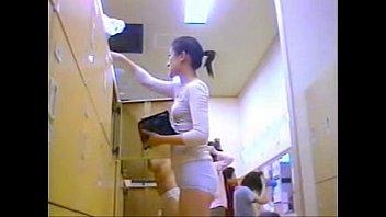 room changing doors spying under Milf blonde shy