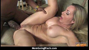 mature interracial a Boo s groping