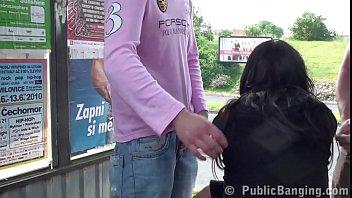 public bdsm girl Black mail hidden cam