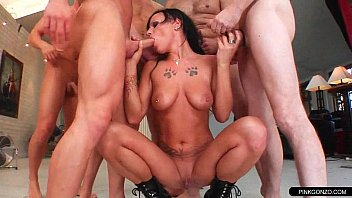 punishing gangbang brutal hardcore Indian aunty nude fuke with black cock